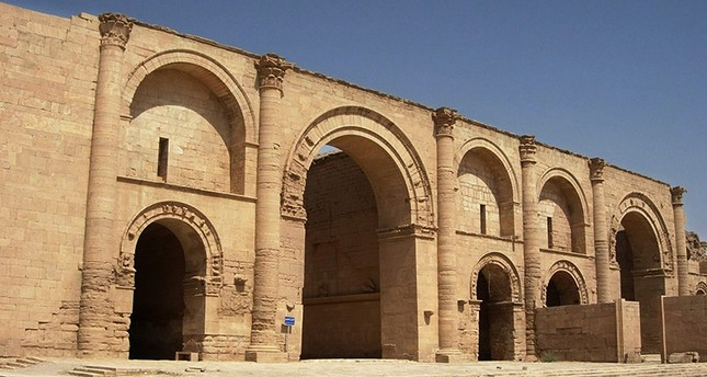 In this  July 27, 2005 file photo, a temple to the Shamash sun god still stands over 1,750 years after the Sassanian empire razed the Mesopotamian city of Hatra, 320 kilometers (200 miles) north of Baghdad, Iraq. (AP Photo)