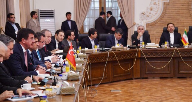 لقاء تركي قطري إيراني بطهران بحث التعاون الاقتصادي والتجاري