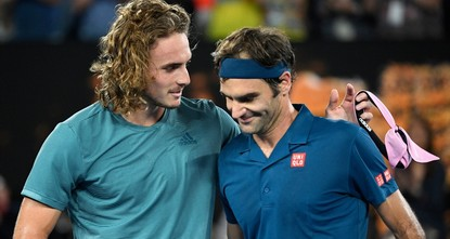 Tsitsipas knocks Federer out of Australian Open