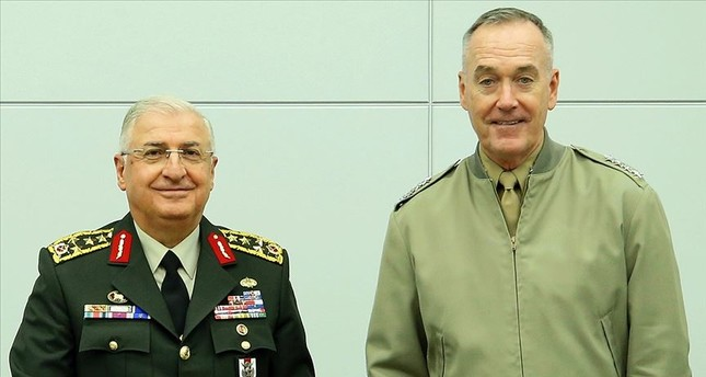 Turkey's Chief of Staff Güler discusses Syria safe zone with US counterpart