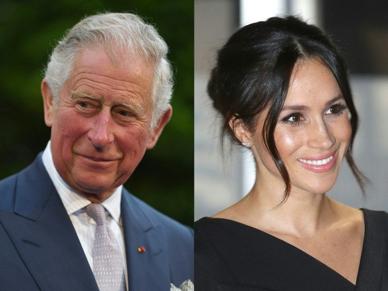 Prince Charles will walk Meghan Markle down the aisle during her marriage to his son Prince Harry, Kensington Palace announced on May 18, 2018. (AFP Photo)