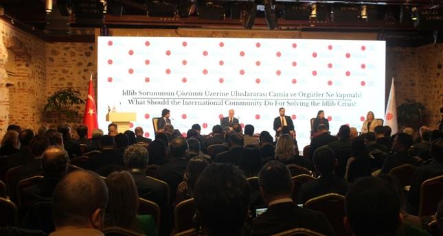 انطلاق فعاليات المؤتمر الدولي حول إدلب بتنظيم من الرئاسة التركية في إسطنبول