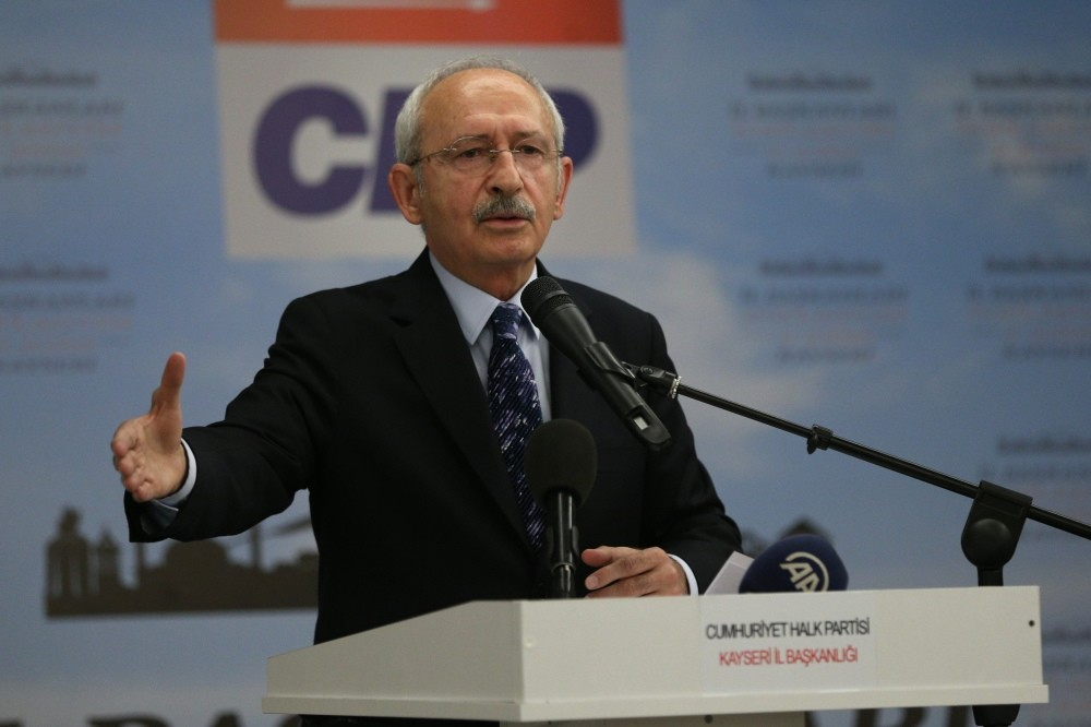 CHP Chairman Kemal Ku0131lu0131u00e7darou011flu has said that he will not run for president, a move which has received criticism from leftist voters.