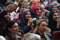 For a few hours on Thursday night, Syrian refugees who fled their war-torn country to Turkey, forgot their plight and joined a merry choir at a concert held especially for them in southern...