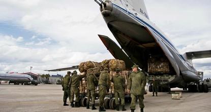 Russian troops land in Venezuela's Caracas