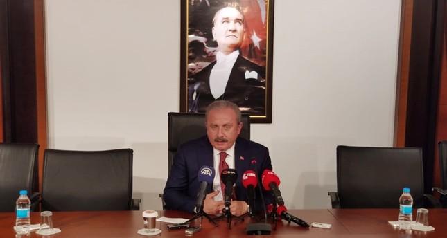 رئيس البرلمان التركي: الاتفاق مع واشنطن وموسكو أثبت صوابية نبع السلام