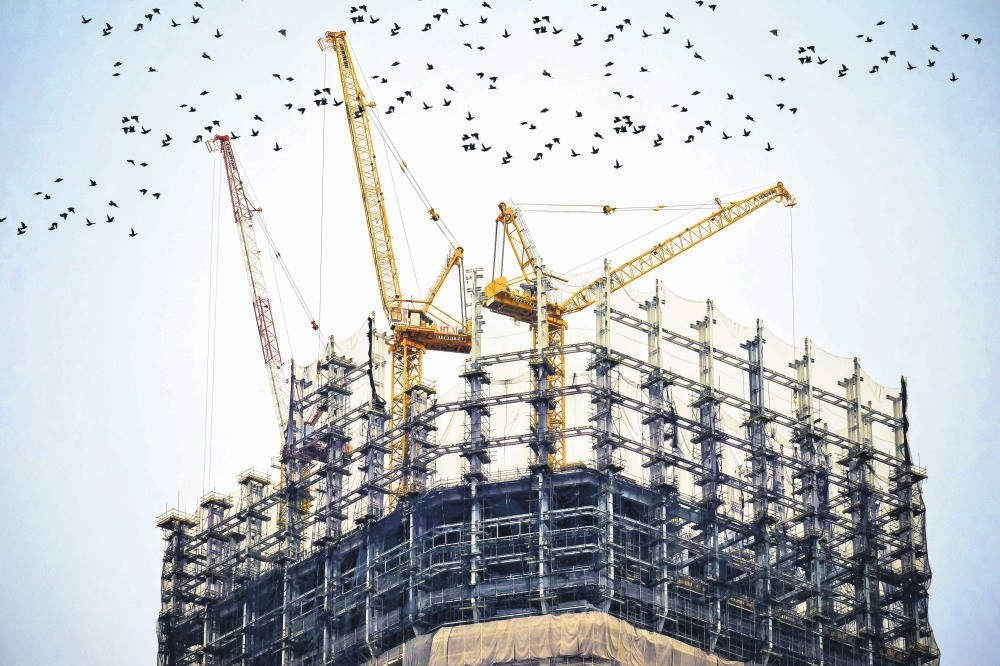 Construction is one of the leading business sectors in Turkey.
