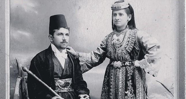زوجان من اليهود السفارديم في سراييفو في القرن التاسع عشر