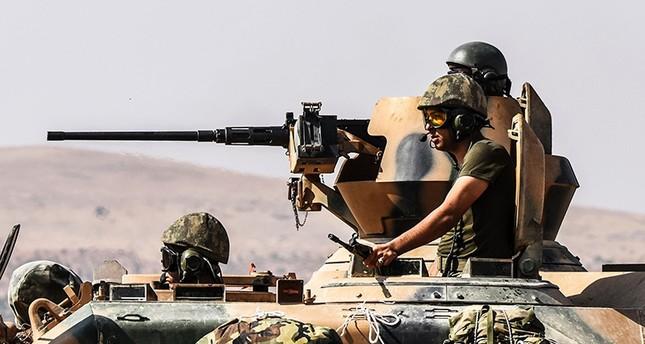 Türkische Soldaten an der türkisch-syrischen Grenze am 27. August 2016. (AFP Foto)