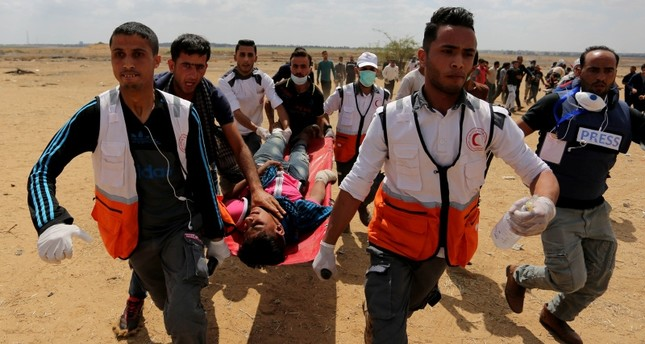 ارتفاع عدد القتلى الفلسطينيين في قطاع غزة إلى 25