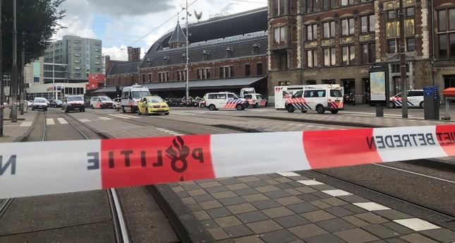 الشرطة أغلقت المحطة (AP)