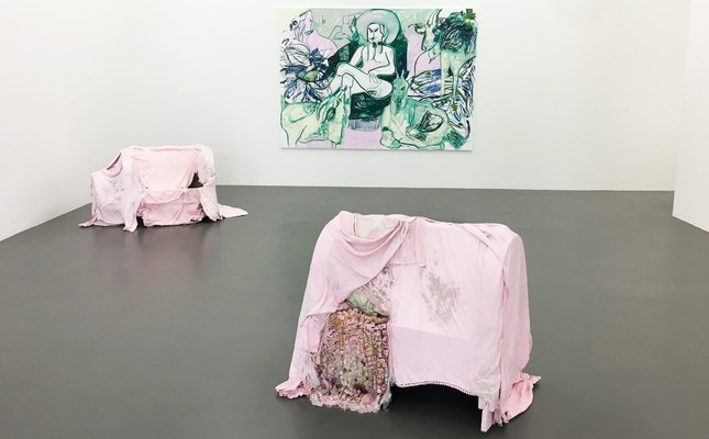 German-born artist Melike Kara's solo exhibition entitled New Work, centering on the stories that she heard from her grandmother, can be visited until Aug. 25 at the Witte de With Center for Contemporary Art in Rotterdam.