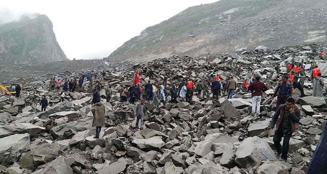Verheerender Erdrutsch in China: 140 vermisst