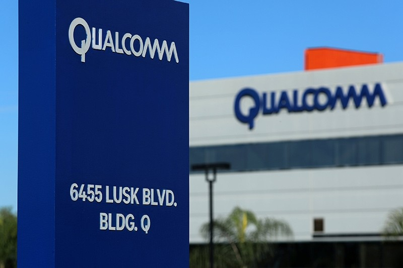 A building on the Qualcomm campus is seen, as chip maker Broadcom Ltd announced an unsolicited bid to buy peer Qualcomm Inc for $103 billion, in San Diego, California, U.S. (Reuters Photo)