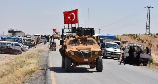 وحدات عسكرية تركية وأمريكية تسيّر دورية رابعة في محيط منبج