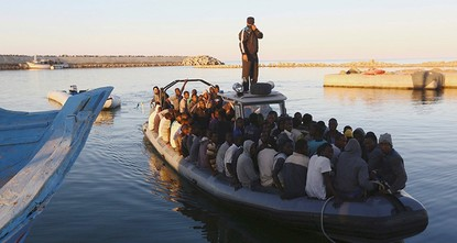 pScores of bodies, presumably of African migrants, washed ashore in Libya, in the western city of Zawiya on the Mediterranean Sea, Libya's Red Crescent spokesman said yesterday./p  pAt least 74...