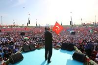 Erdoğan urges Muslim unity in massive rally against Israeli violence in Istanbul