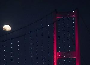Partial lunar eclipse observed in Turkey