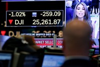 Dow sinks 4.6%, marking biggest one day loss since 2008 global economic crisis
