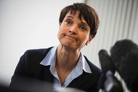 Right-wing AFD's Petry says she won't lead the party into German elections