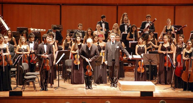 Turkish youth philharmonic takes Istanbul stage before tour