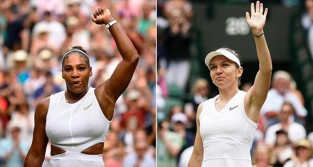 Williams, Halep roar to semifinals in Wimbledon