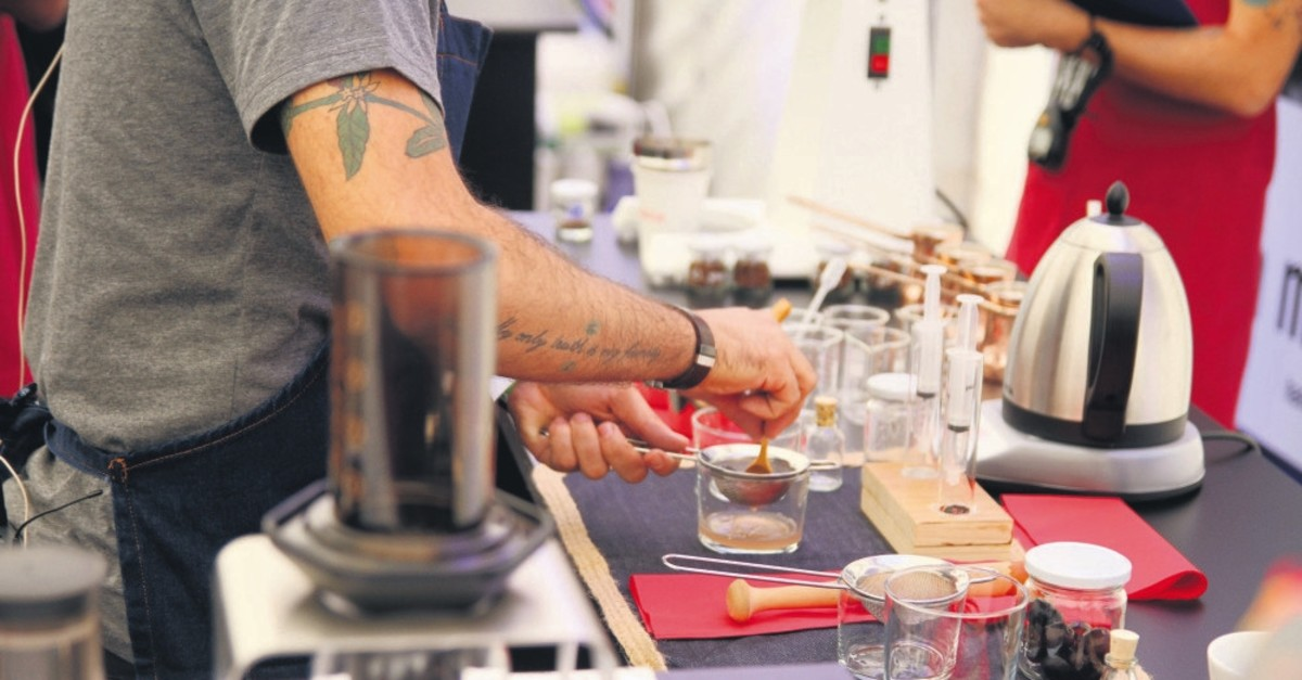Thirty-two baristas will compete in the Barista Clash competition.