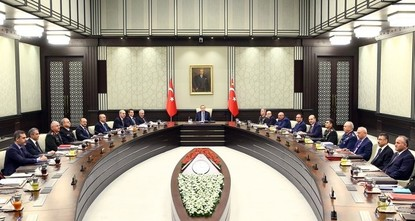 pThe second National Security Council of 2017 chaired by President Recep Tayyip Erdoğan convened late Wednesday in the Presidential Complex in Ankara and lasted for about four hours./p