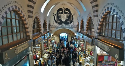 Istanbul's iconic 17th-century Spice Bazaar gets facelift