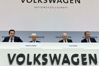 VW chief denies rumors about talks with rival Fiat Chrysler
