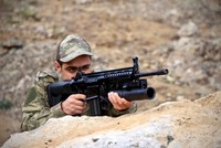 Domestically-produced grenade launcher enters Turkish army's inventory
