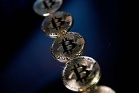 Cryptocurrency Bitcoin hits new record at $11,850