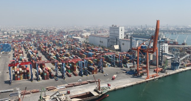 Turkey's exports hit an all-time high of $168.1 billion in 2018, a 7.1 percent increase year-on-year.