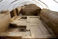 2,000-year-old luxury baths uncovered in China's northwestern Xi'an city