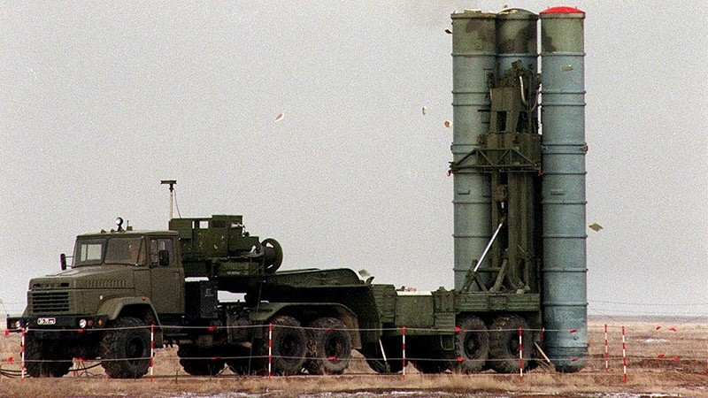 File image of Russian S-400 Triumf air defence system. (Reuters Photo)