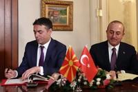 Ankara supports Macedonia in name dispute, FM Çavuşoğlu says