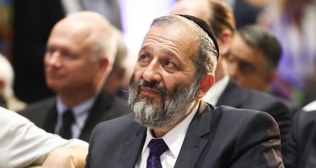 Israeli Interior Minister Aryeh Deri at the Herzliya Conference in June 2016. (Photo by Adi Cohen Zedek)