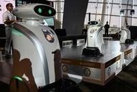 Singapore deploys friendly robots to spruce up city