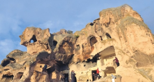 The rock formations and rock-cut Settlements of the Phrygian Valley are likened to the ones in Cappadocia, Nevşehir.