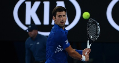 Djokovic dominates first match, Halep survives scare