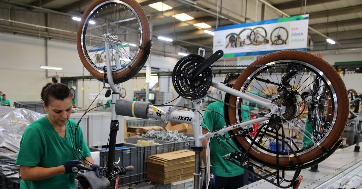 Turkey has sold 7,155 electirc-assist bikes abroad in the January-August period of this year.