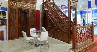 افتتاح معرض ترميم وبناء المساجد وتجهيزاتها في إسطنبول