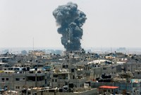 Israel hits Hamas targets Gaza with largest daytime airstrikes since 2014 war