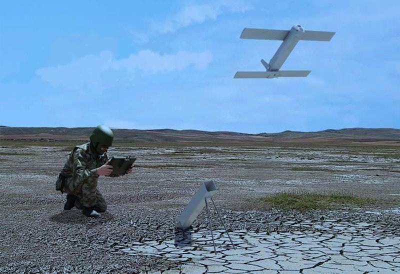 The ALPAGU ,kamikaze drone, (AA Photo)