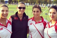 Turkish women's archery team wins gold