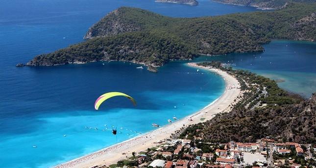 خلجان موغلا التركية.. نقطة التقاء الأخضر بالأزرق تجذب ملايين السيّاح