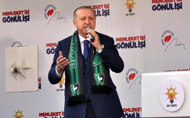 Erdoğan denounces CHP for its cooperation with pro-PKK HDP