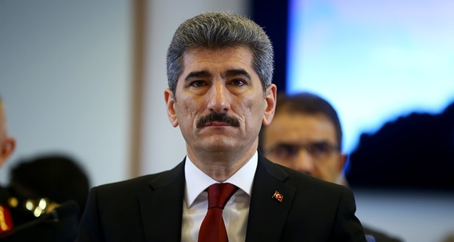Turkish Deputy Interior Minister Muhterem İnce (AA Photo)