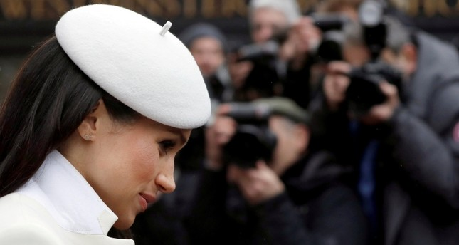 Meghan Markle leaves after attending the Commonwealth Service at Westminster Abbey in London, Britain  March 12, 2018. (Reuters Photo)