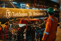 Russia starts pumping gas into TurkStream pipeline